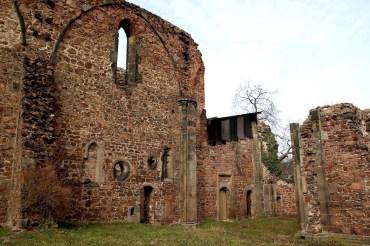 Klosterruine Heilig Kreuz bei Meißen