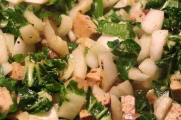 Gero kocht: Couscous mit Tofu und Pak Choi