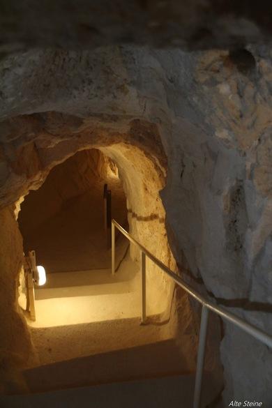 Grab von Herodes, unterirdische Gänge in Israel, Grotten Israel, Ruinen bei Jerusalem