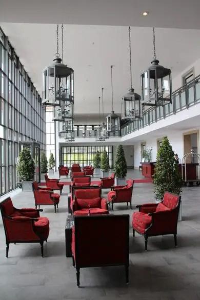 Moderner Anbau, Gräflicher Park, Hoteleinrichtung