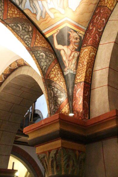 Fresken in der Kirche St. Severus, Sehenswürdigkeiten in Boppard