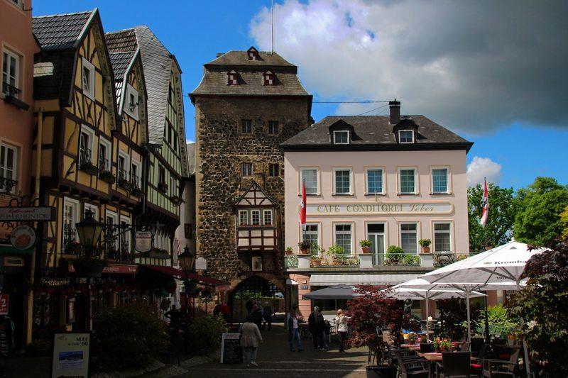 Schöne Städte am Mittelrhein