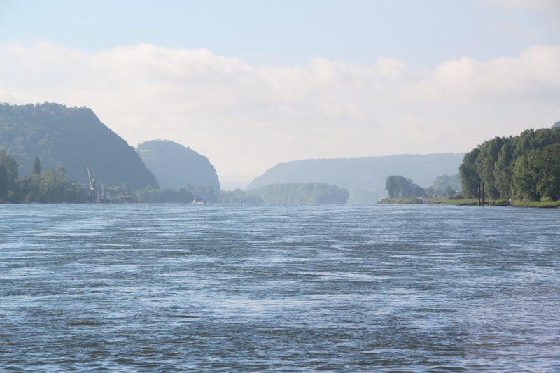 Rhein, Burgen am Rhein, Rhein in Gemälden