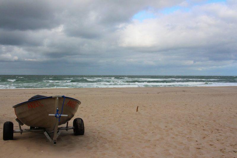 einsamer Strand von Sylt