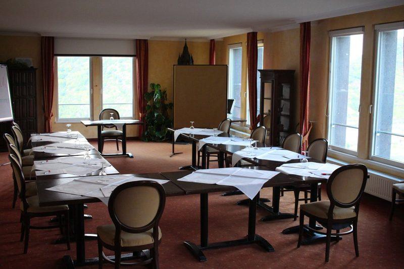 Bestes Tagungshotel Deutschlands, Schlosshotel Rheinfels, Tagen am Rhein