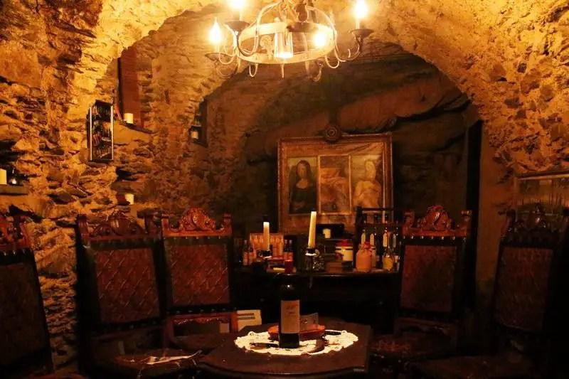 Zigarren und Rum Lounge, Schlosshotel Rheinfels, nostalgisches Hotel
