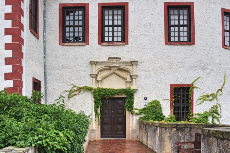 Burg in Sachsen, Burg in Thüringen, Schloss der Gräfin von Kurland,