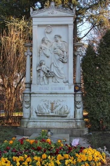 Grab von Franz Schubert auf dem Zentralfriedhof in Wien