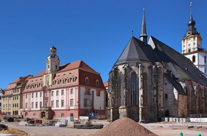 Marktplatz Weißenfels, Residenzstädte, Sehenswürdigkeiten Saale-Unstrut, Altstadt Weißenfels