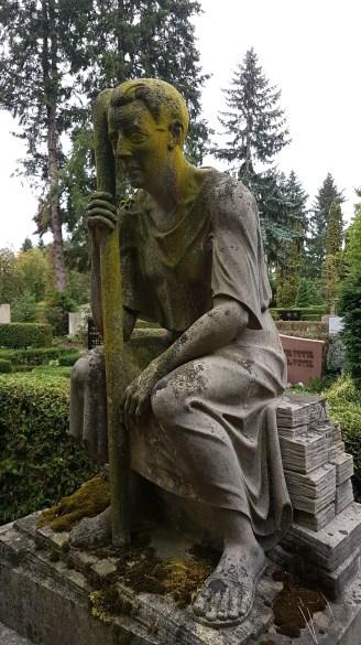 Alter Friedhof, Wolfenbüttel, schöne Grabsteinskulptur