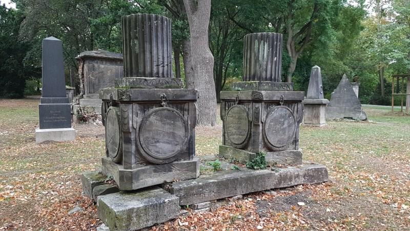 Alter Friedhof, Wolfenbuettel, Verfallener Friedhof