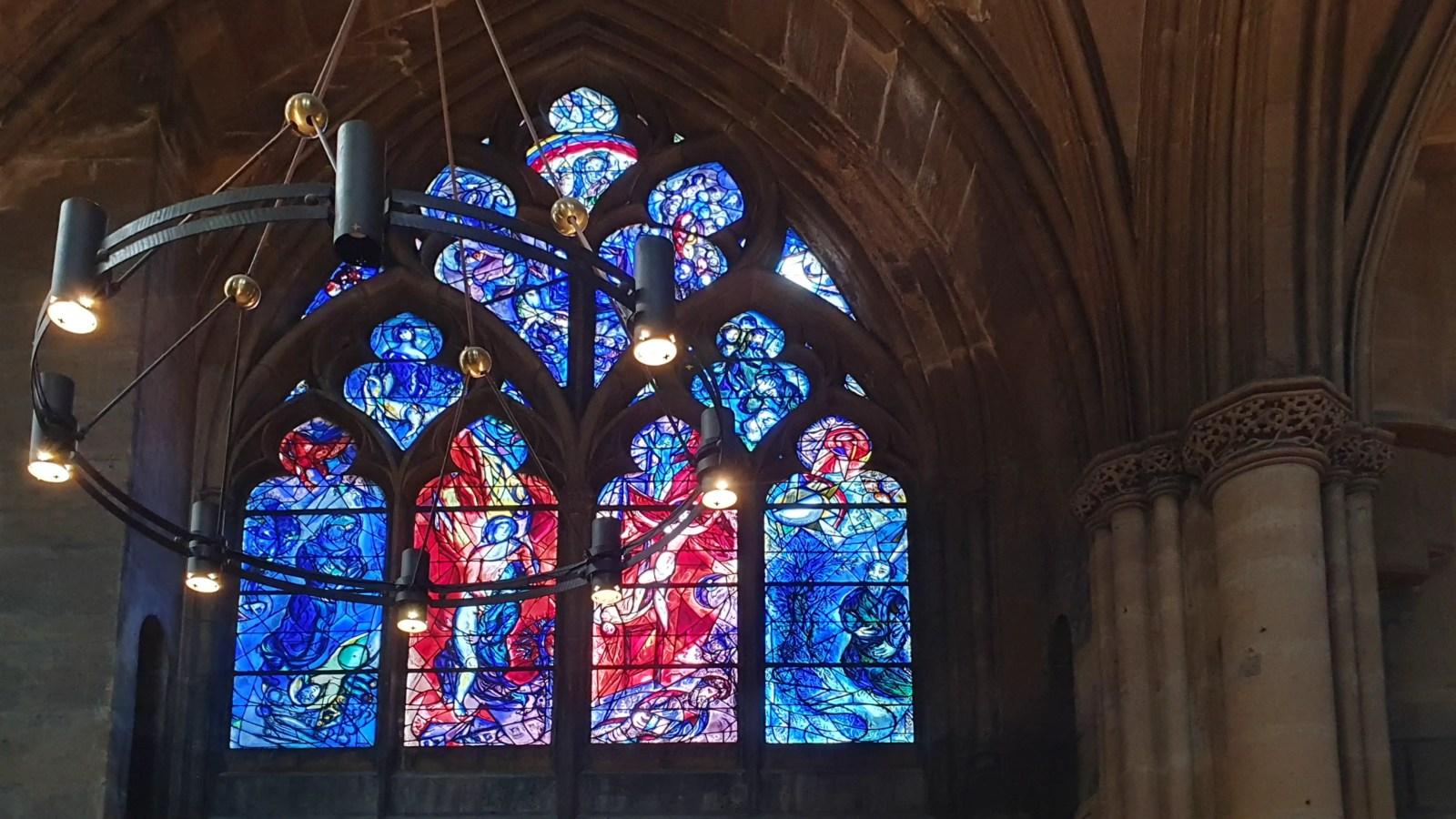 Sehenswert in Metz, Sehenswürdigkeiten in Lothringen, Fenster von Marc Chagall,