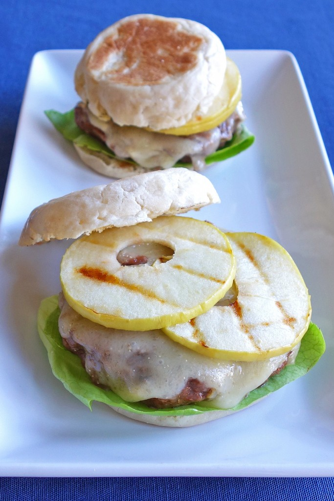 Green Apple and Brie Burgers | burgerartist.com