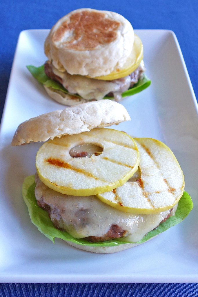 Green Apple and Brie Burgers | burgerartist.com
