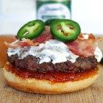 jalapeno cream cheese burger
