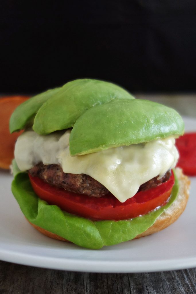 The avocado burger is extremely easy to make and turns a boring burger into a delicious, fresh gourmet burger in only a few minutes!