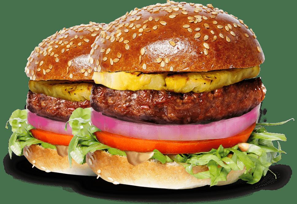 2 Burgerim Mini Burgers Up Close - Burgers