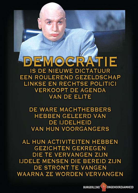 Democratie is een show geworden voor een Plutocratie - Burgerlijke Ongehoorzaamheid