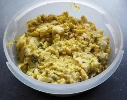 Zelf eiersalade maken, recept voor zelfgemaakte eiersalade