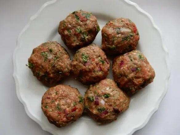 Recept kofte maken, turks gehakt, lamsgehakt recept