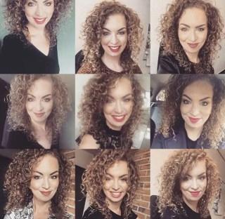 Mooiere krullen gekregen door de Curly girl methode