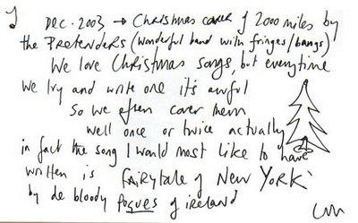 Coldplay Christmas Message