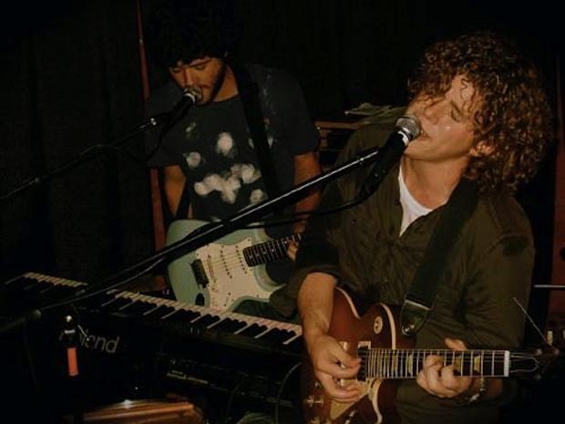 Tristan Clopet performing live.