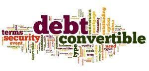 startups deuda convertible