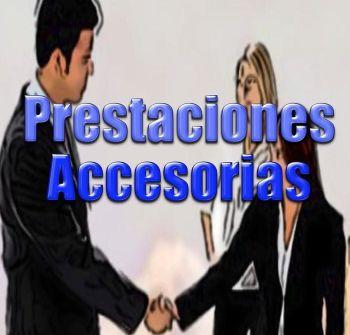 prestaciones accesorias
