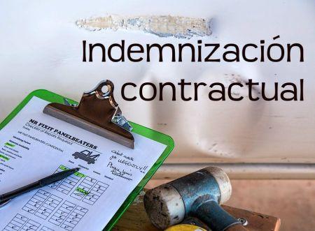 indemnización contractual