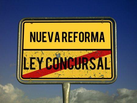 NUEVA REFORMA LEY CONCURSAL