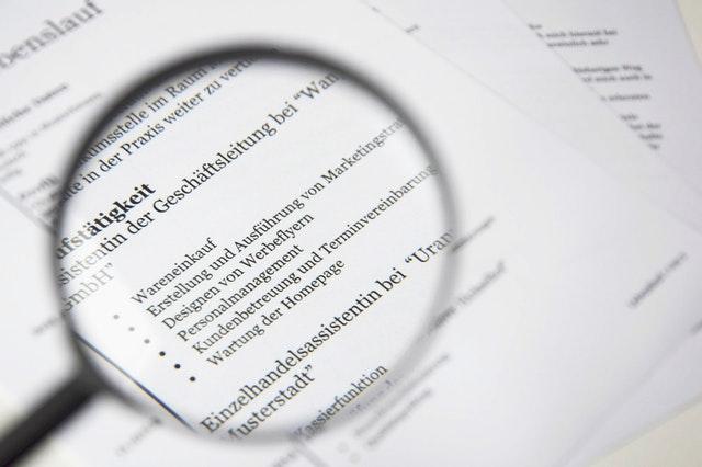 tamaño letra contratos
