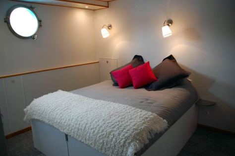 Space and comfort in the cabins