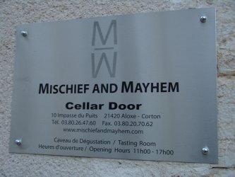 mischief and mayhem cellar door