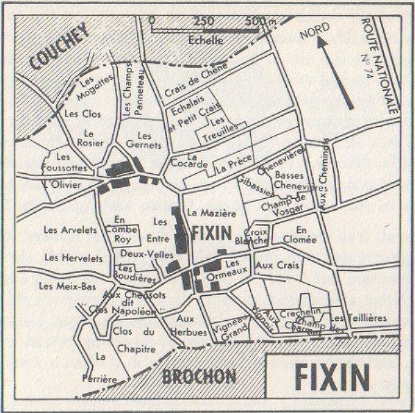 vineyards of fixin