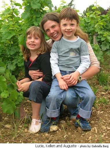 family lignier, lucie auguste and kellen