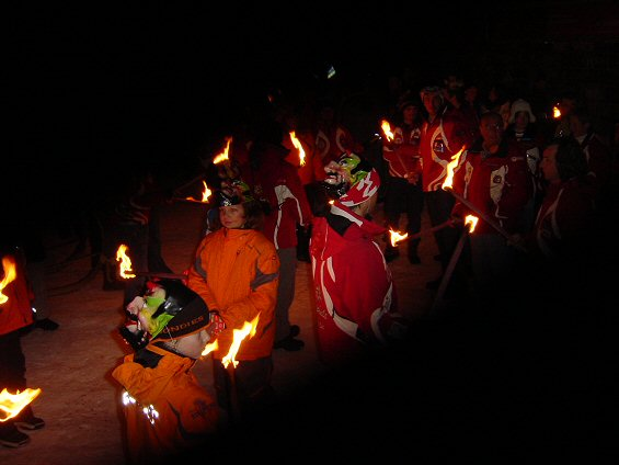 inferno rennen parade