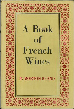 a book of french wines, p morton shand