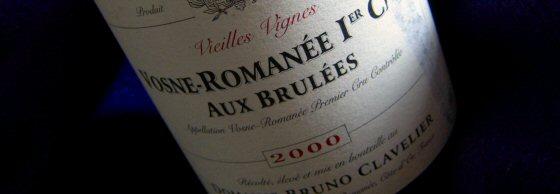 Bruno Clavelier 2000 Vosne-Romanée 1er Brulées