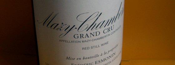 1999 Frédéric Esmonin, Mazy-Chambertin