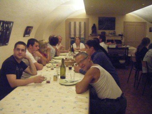 1st evening dinner