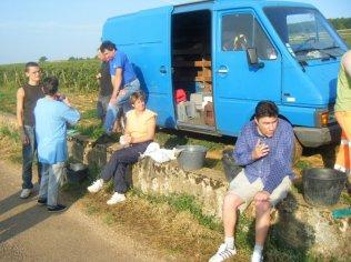 Vendangeurs break Corton Bress