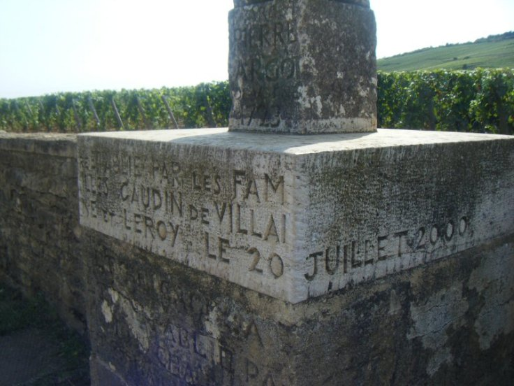 Romanee Conti Warring parties cross base