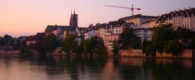 7:15 a.m. Basel, 'Middle Bridge'
