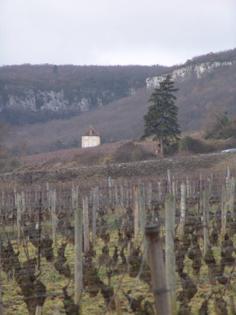 Over Clos St.Jacques to the 'house' in Veroilles