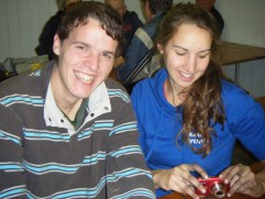 Sweet loved up but v nice young couple - Vincent & Sophie.
