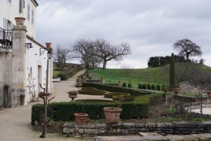 The garden of Clos des Ducs