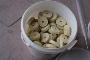 Barrel maintenance - sulfur chips...