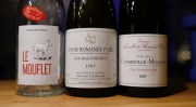 week 49 weekend wines – 2018 BJ Nouveau, 2017 Chambolle, plus an older one…