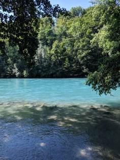 River Aare in Bern...